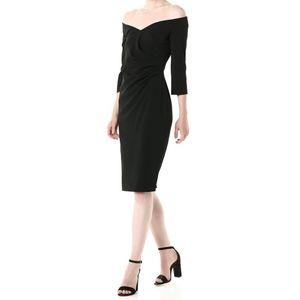 NWT   Calvin Klein Sweetheart Off-Shoulder Dress